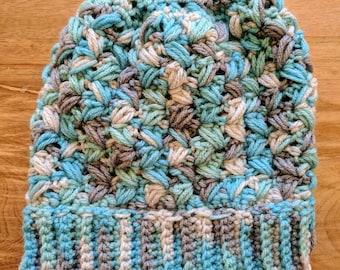 Zig-Zag Puff Stitch Children's Hat