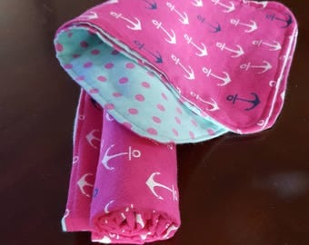 Receiving Blanket & Burp Rag Gift Set