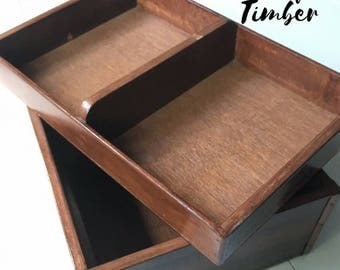 Recycled Timber Coffee Table Box