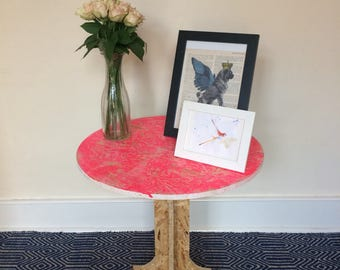 Quirky Wooden Table - Your Choice of Colour!