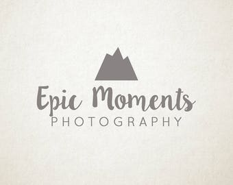 Premade logo, photography, small business