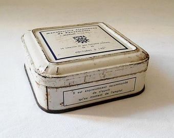 Box of bandages manufactured by the company HYDRA 1950, France