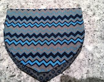 Blue boy scarves