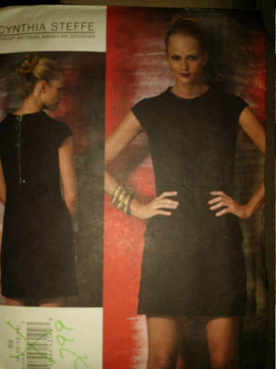 Vogue v1150 Designer Cynthia Steffe  Sz  8-10-12-14