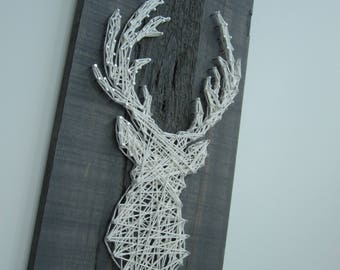 Stags head String Art