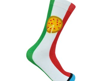 Italian Pizza Socks