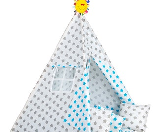 Kid's Teepee Tent SET