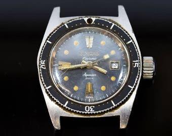 Duward Vintage Aquastar Diver Ladies Watch