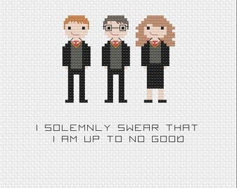 Harry Potter Cross Stitch- Pattern Only