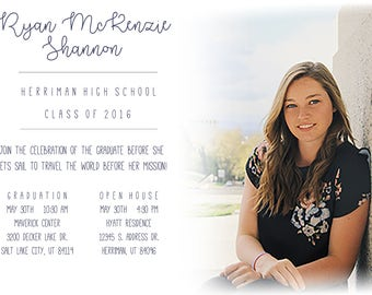 Picture Grad Announcement/Invite