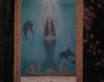 One card reading, Art Through The Eyes of the Soul Oracle