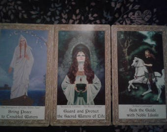 3 + card reading, Art Through The Eyes of the Soul Oracle