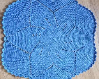 Blue Blossom Baby Blanket