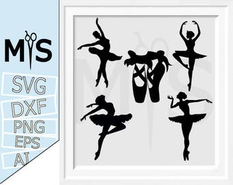 70 % OFF, Ballerina SVG, Ballet SVG, Ballet Dancer svg, cut files for Silhouette, svg files, Monogram frames svg, Circle monogram
