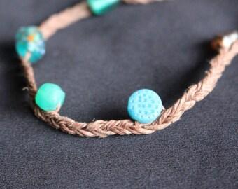 Braided Beaded Bracelet