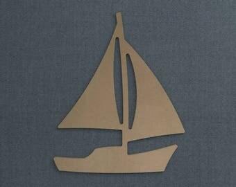 Sailboat Cutouts Etsy