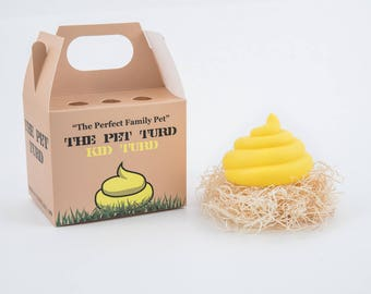 Kid Turd by The Pet Turd - Fake Poop Toy - Yellow Plastic Turd - Prank Gag Gift - Poop - Turd - Fake Turd - Fake Poop  - Poop Emoji – Emoji