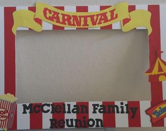 Carnival Theme Photo Frame