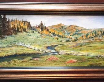 Cache Mountain Valley Stream