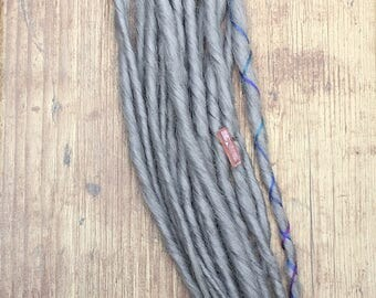 Smokey Grey Synthetic Dreads