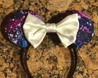 Galaxy Mouse Ear Headbands