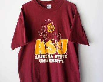 90s Arizona State University Sun Devils T-Shirt // Men's XL