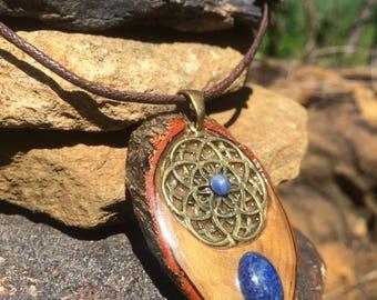 Sacred Geometry Lapis Lazuli