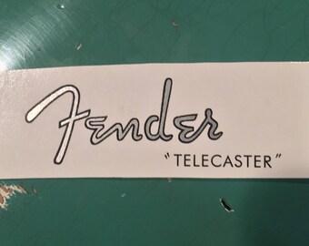 1950-61 Telecaster Waterslide Decal