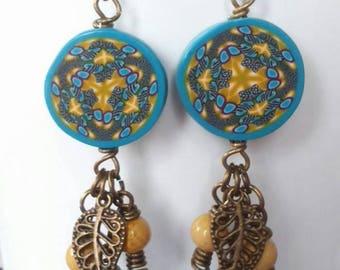 earring, pair of earrings, women