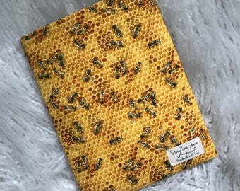 Honey Bee Book Sleeve