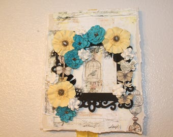 Wall Art - mixed media canvas
