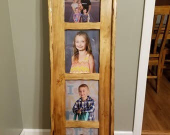 Floor picture frame