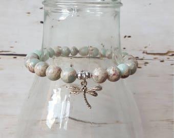 Nature stone Beads Bracelet 8 mm