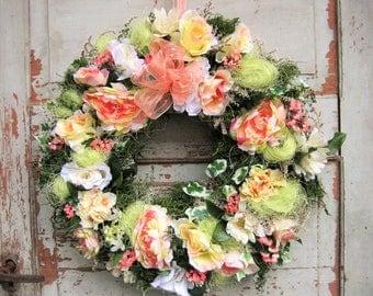 Handmade wreath door wreath wall country house