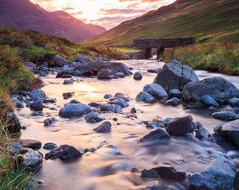 Fine Art or Canvas Print - Honister Pass, Lake District