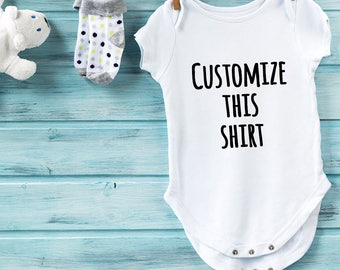 Customize this Kid sized shirt!