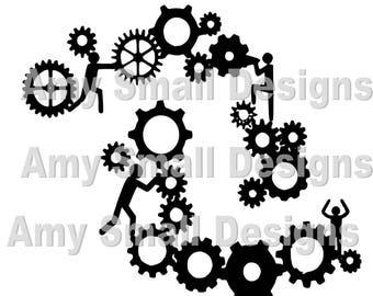 Gears Cutfile