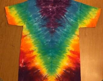 Small V Tie Dye Shirt