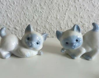 Vintage cats some blue/white kitten 90s kitten