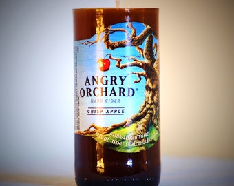 Angry Orchard Beer Candle- Candy Apple Scented