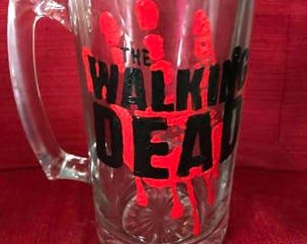 The Walking Dead Glass