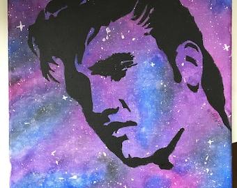 Elvis Presley galaxy portrait.