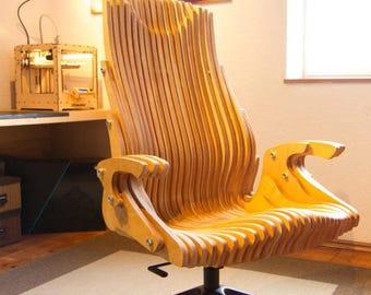 CNC Parametric Office Chair