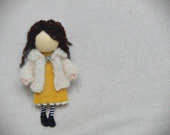Laura - miniature doll