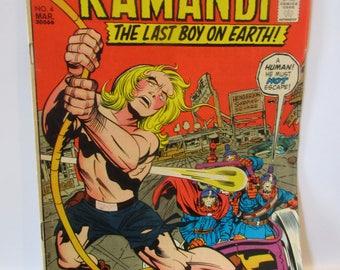 Kamandi The Last Boy On Earth #4 (Intro To King Tuftan Of The Tigers) D.C. Comics 1973