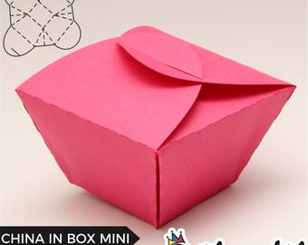 China in Box Mini -  Box Template