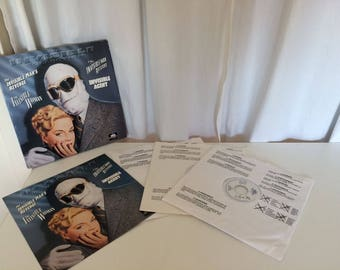 "Laser Disc ""The Invisible Man"" Collection Boxed Set Original"