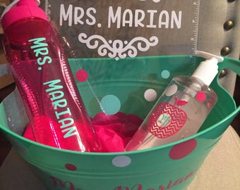 Custom Teacher Gift Sets