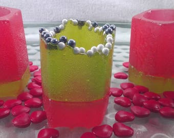 Watermelon Candy Shot Glasses