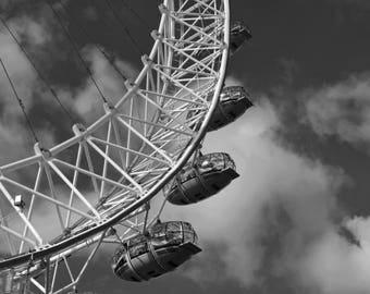 London Eye - Blank Greetings Card